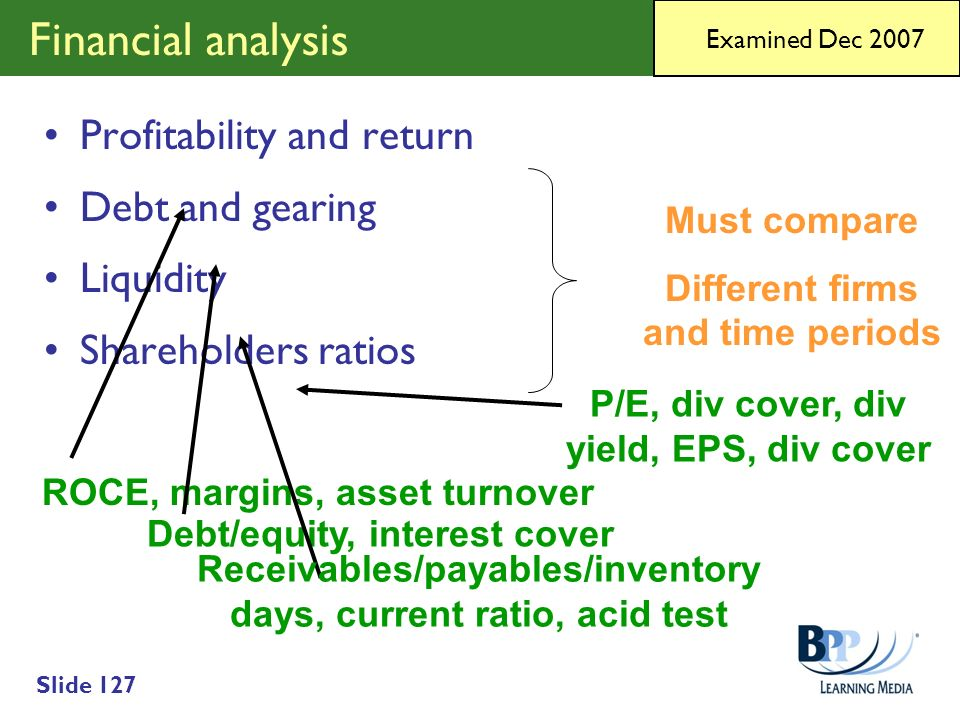 Different firms and time periods Debt/equity, interest cover