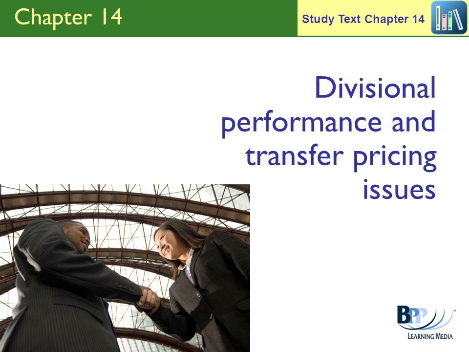 Divisional performance and transfer pricing issues