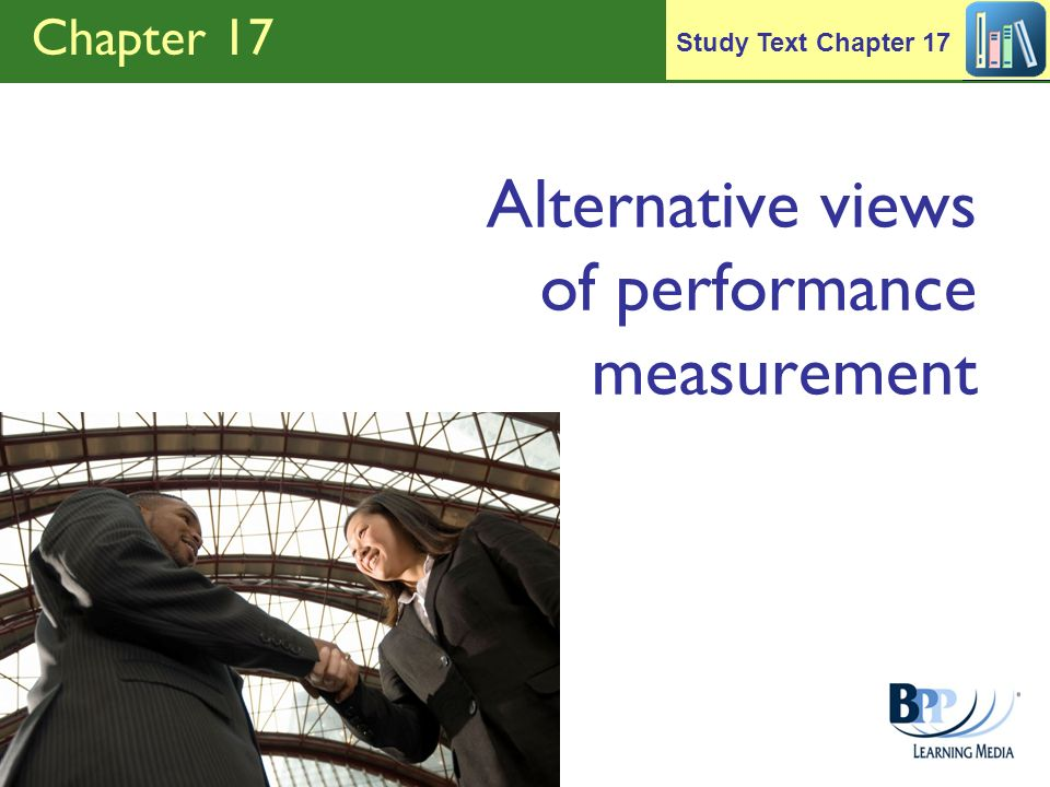 Alternative views of performance measurement