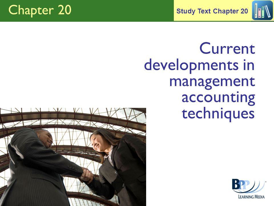 Current developments in management accounting techniques