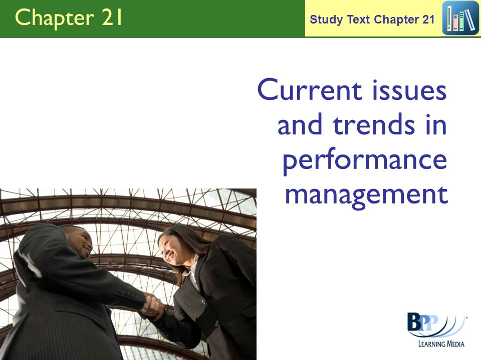 Current issues and trends in performance management