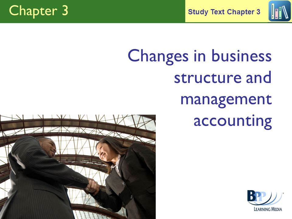 Changes in business structure and management accounting