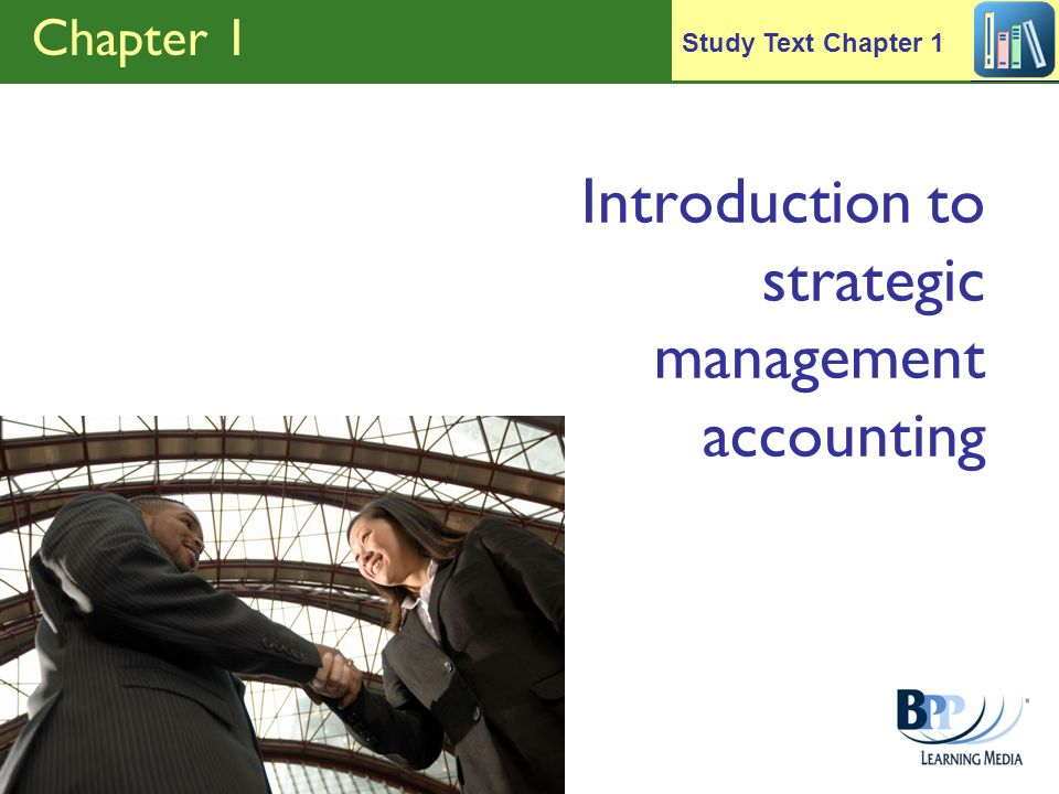 Introduction to strategic management accounting