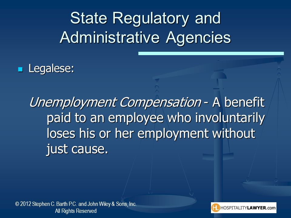 State Regulatory and Administrative Agencies