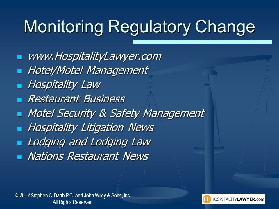 Monitoring Regulatory Change