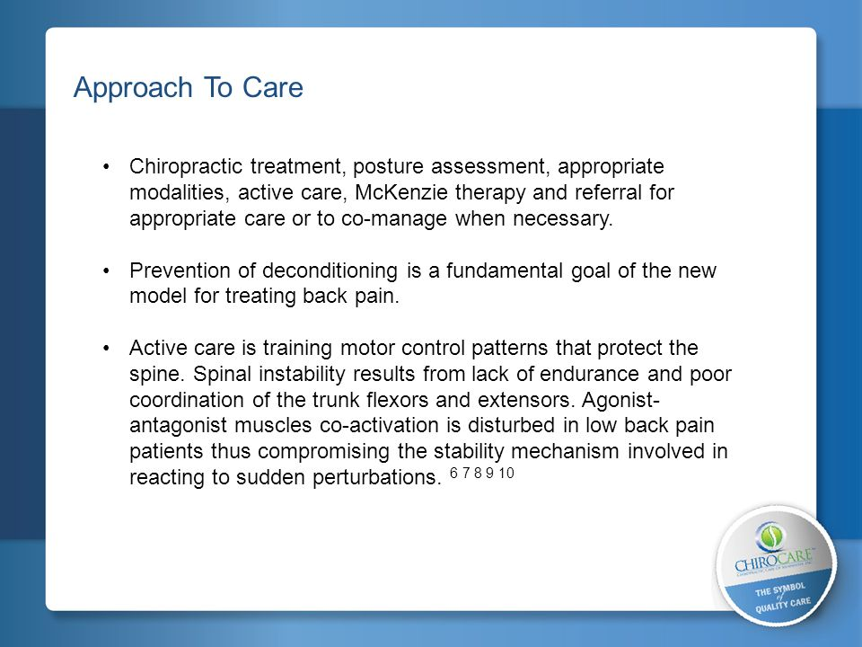 2 Approach To Care.