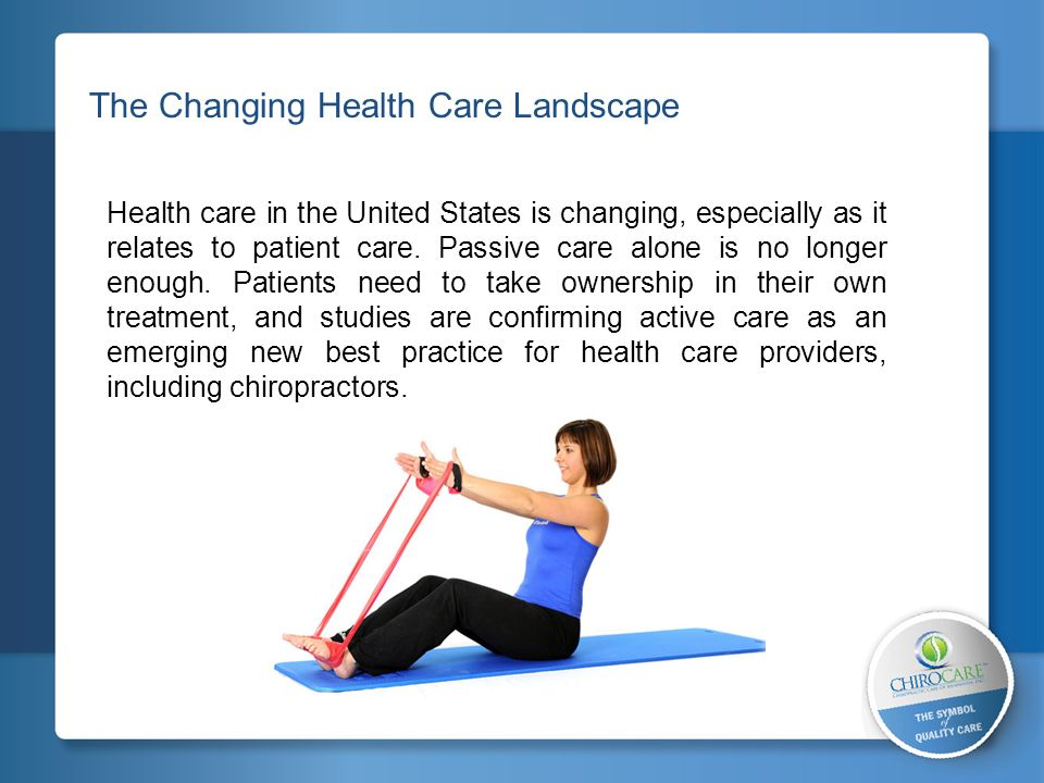 The Changing Health Care Landscape