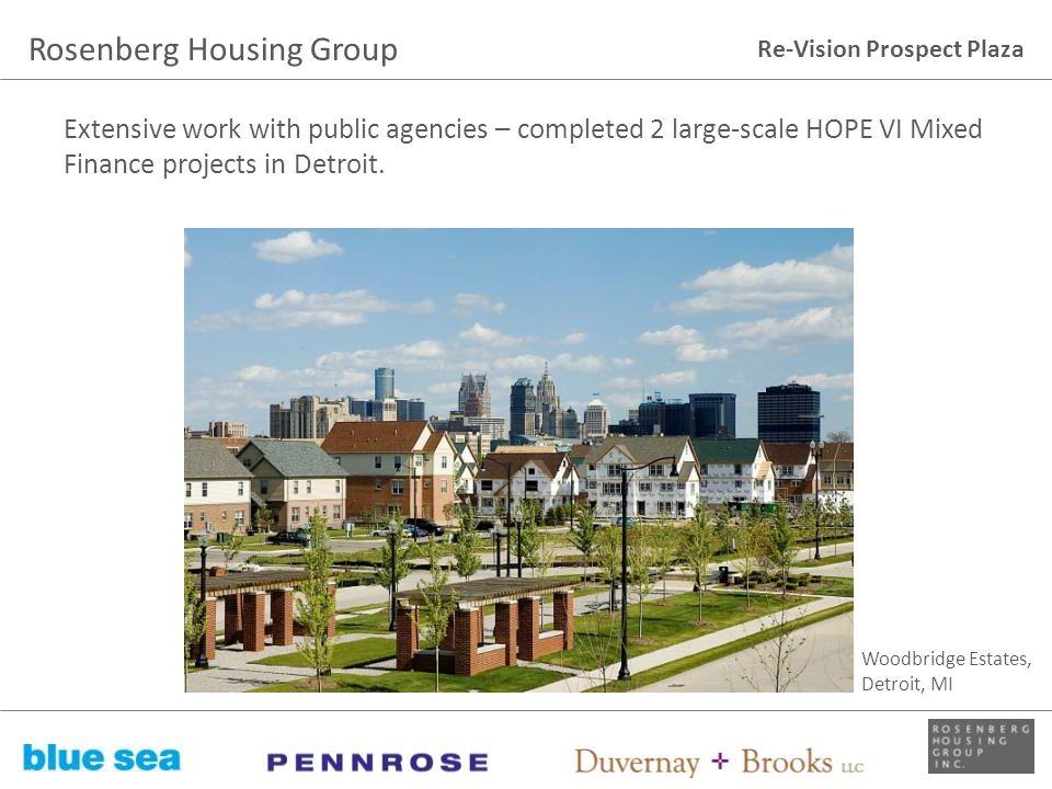 Rosenberg Housing Group