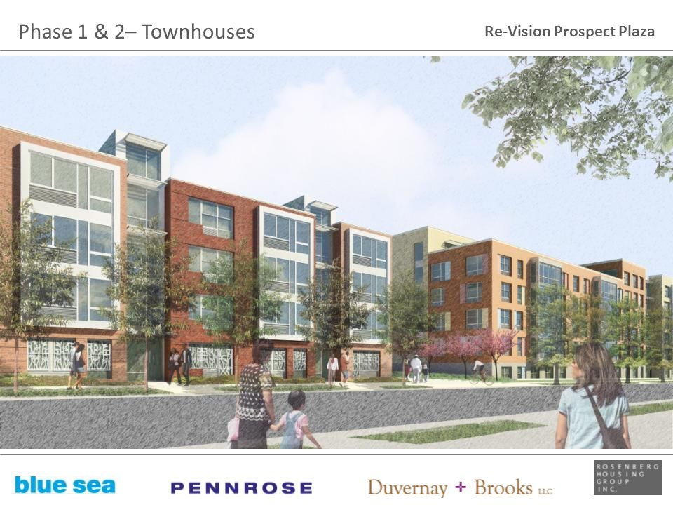 Phase 1 & 2– Townhouses