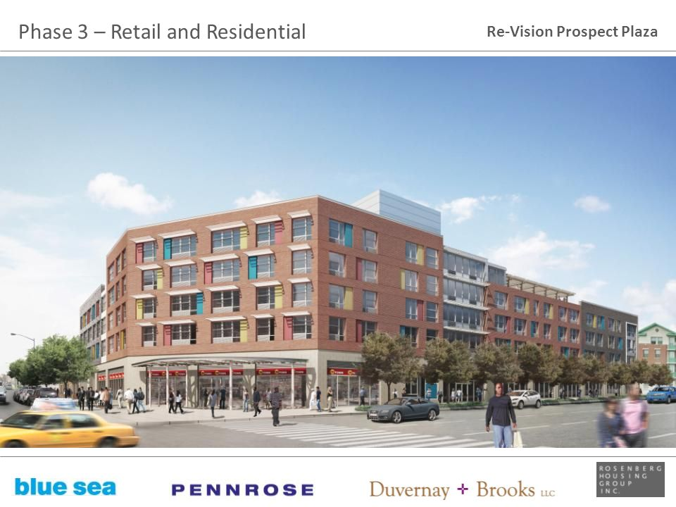 Phase 3 – Retail and Residential
