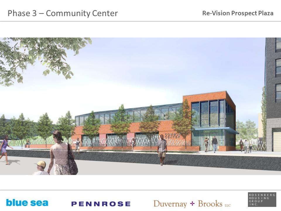 Phase 3 – Community Center