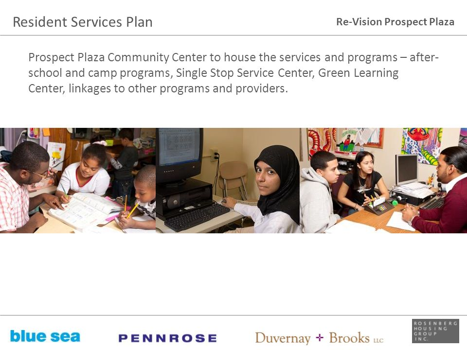 Resident Services Plan