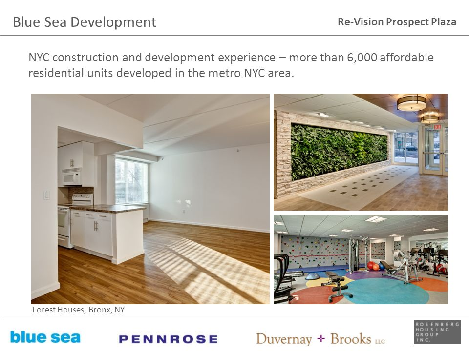 Blue Sea Development NYC construction and development experience – more than 6,000 affordable residential units developed in the metro NYC area.