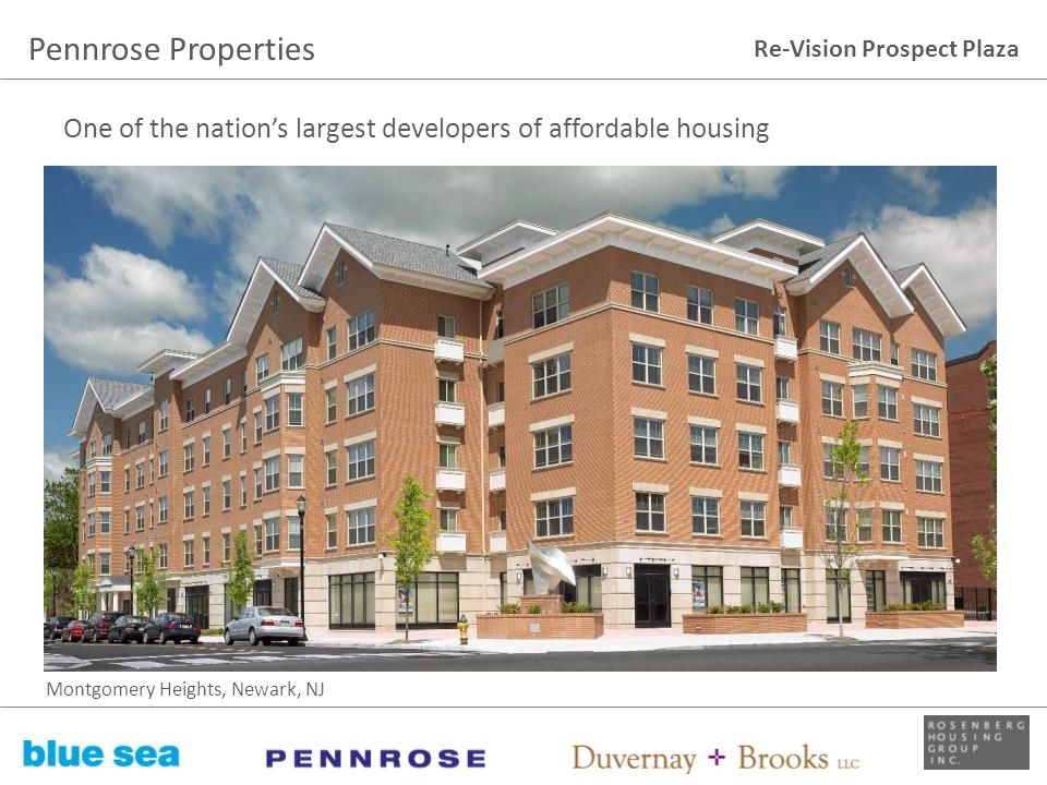 Pennrose Properties One of the nation's largest developers of affordable housing.