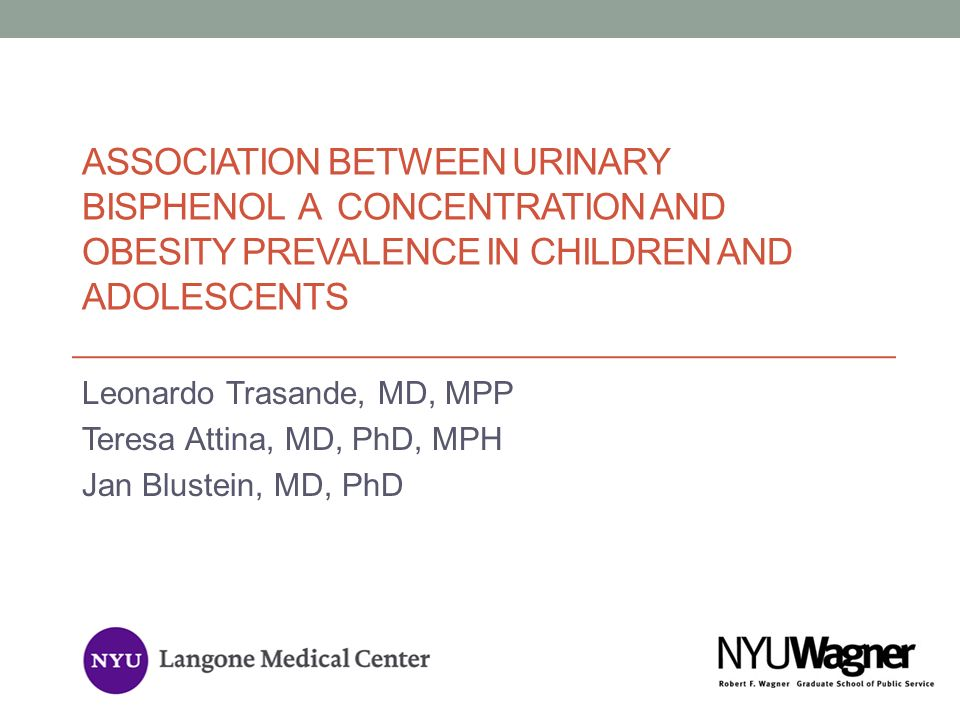 Association Between Urinary Bisphenol A Concentration and Obesity Prevalence in Children and Adolescents