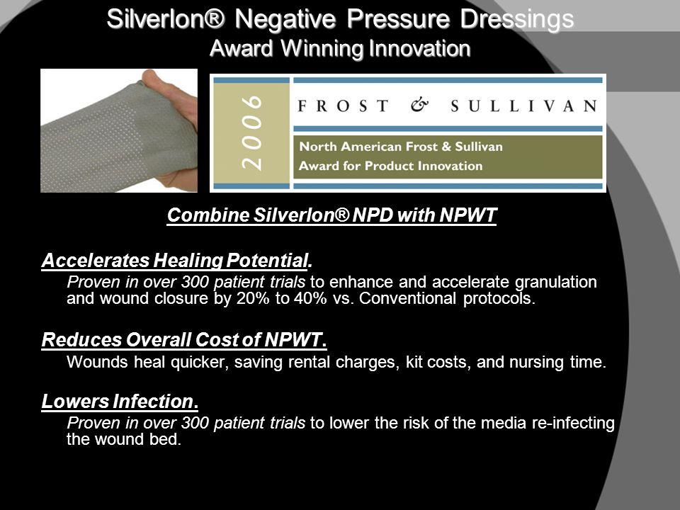 Silverlon® Negative Pressure Dressings Award Winning Innovation