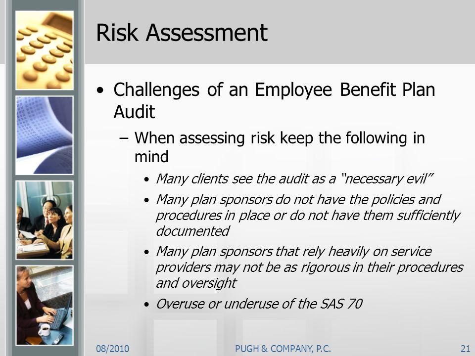 Risk Assessment Challenges of an Employee Benefit Plan Audit