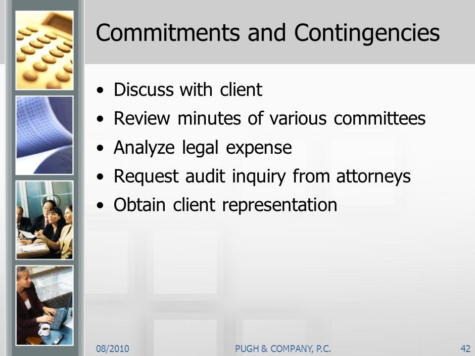 Commitments and Contingencies