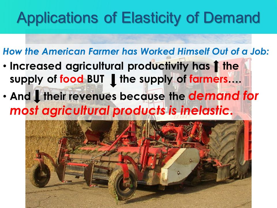 Applications of Elasticity of Demand