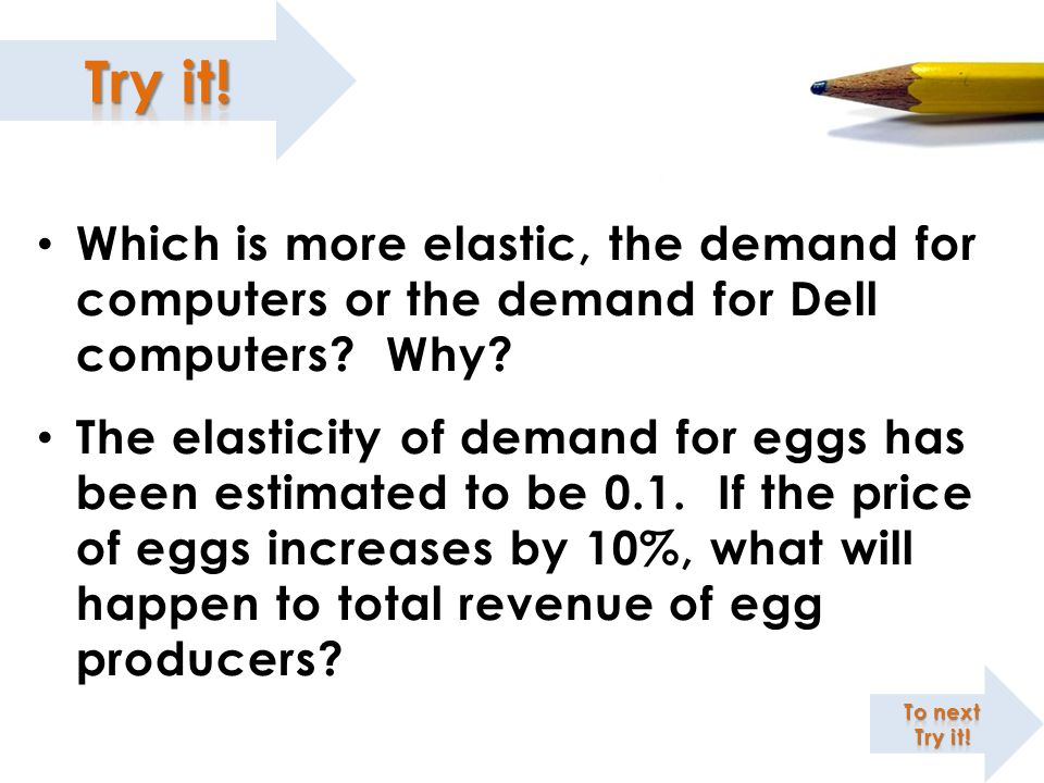 Which is more elastic, the demand for computers or the demand for Dell computers Why