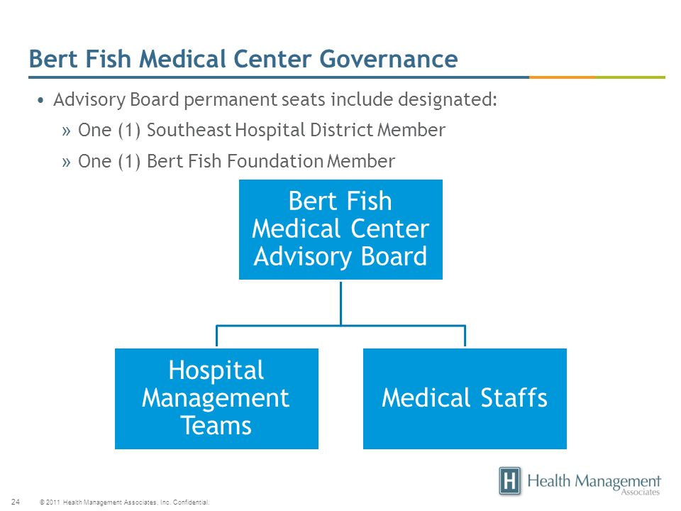 Bert Fish Medical Center Governance