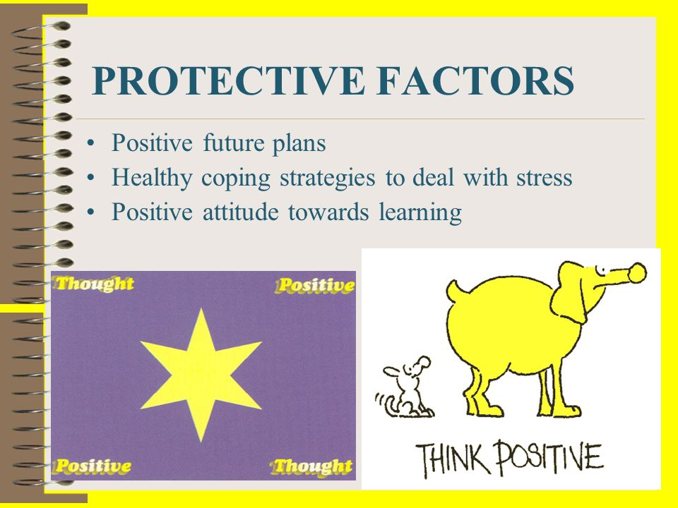 PROTECTIVE FACTORS Positive future plans