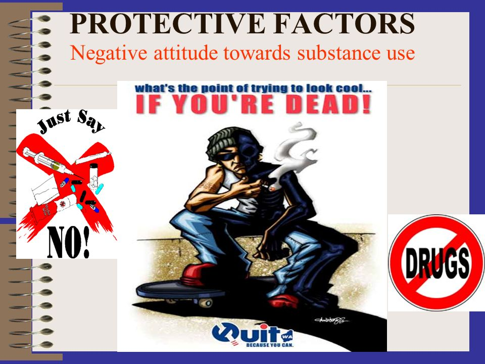Negative attitude towards substance use