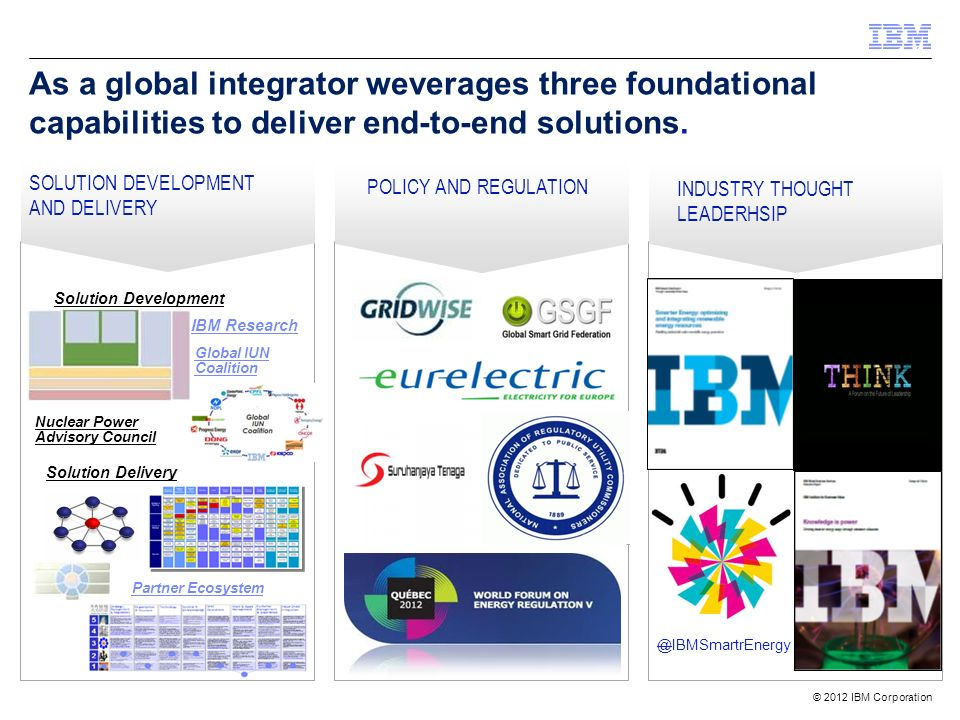 As a global integrator weverages three foundational capabilities to deliver end-to-end solutions.