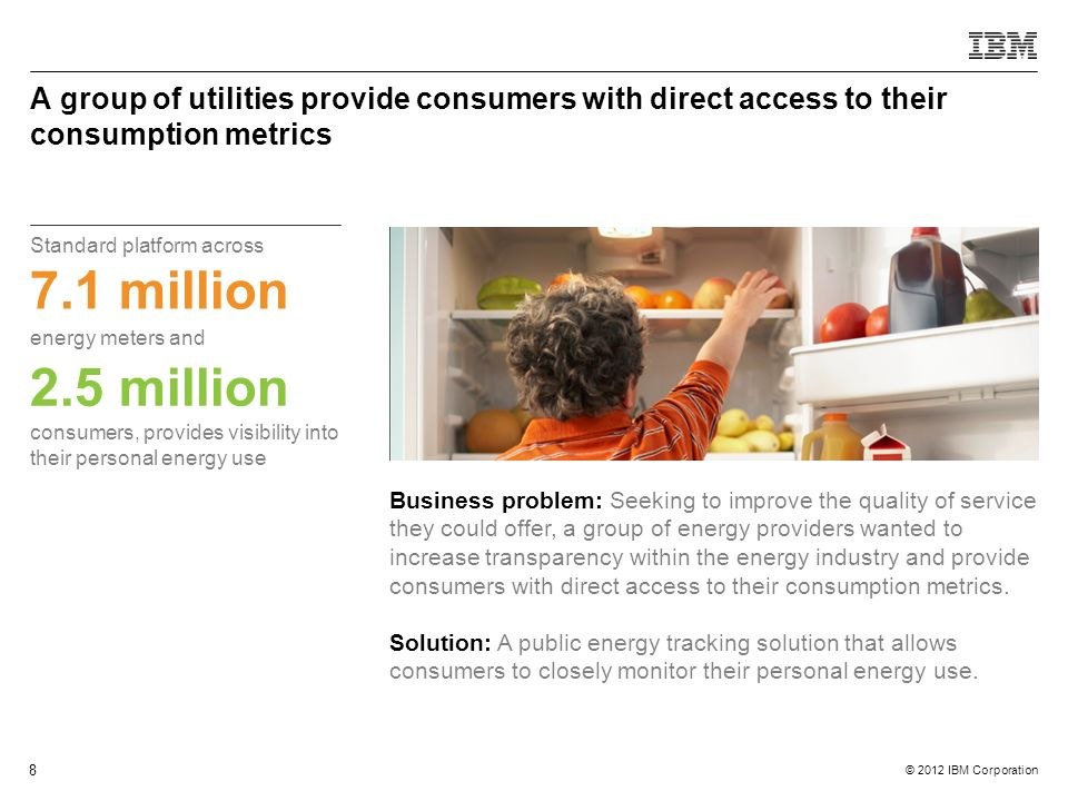 A group of utilities provide consumers with direct access to their consumption metrics