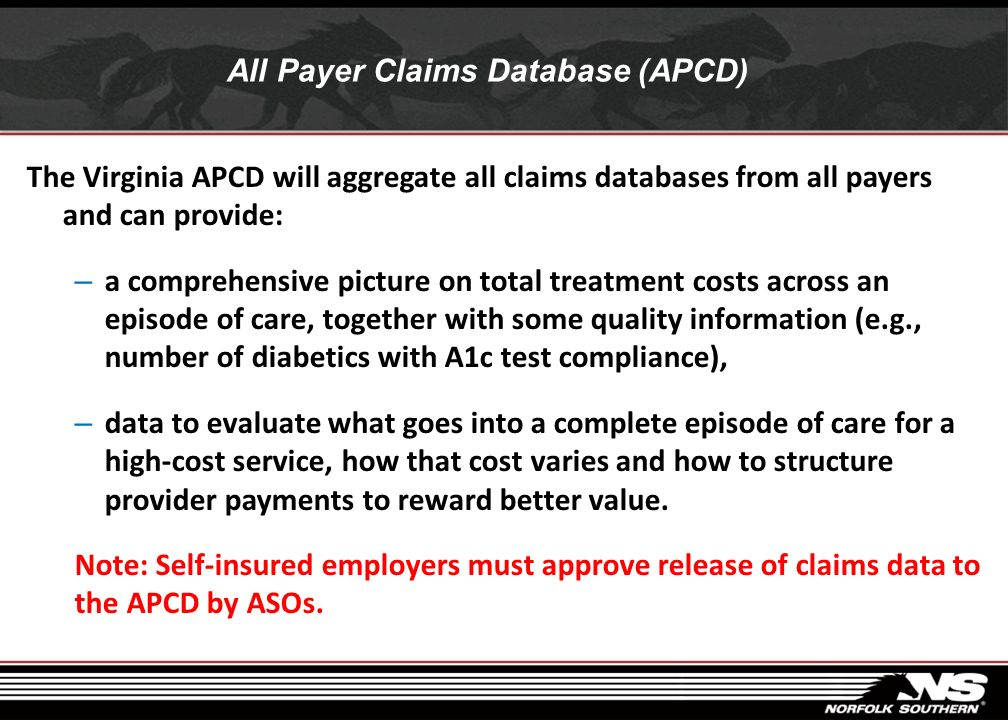 All Payer Claims Database (APCD)