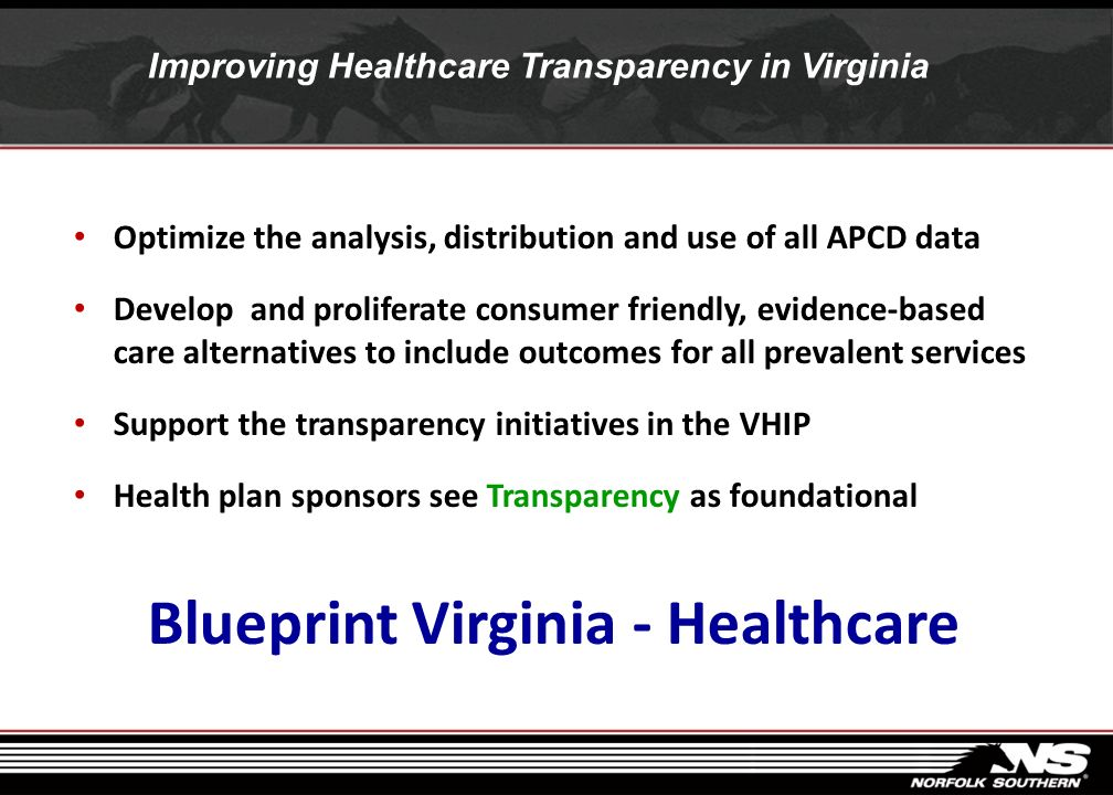Improving Healthcare Transparency in Virginia