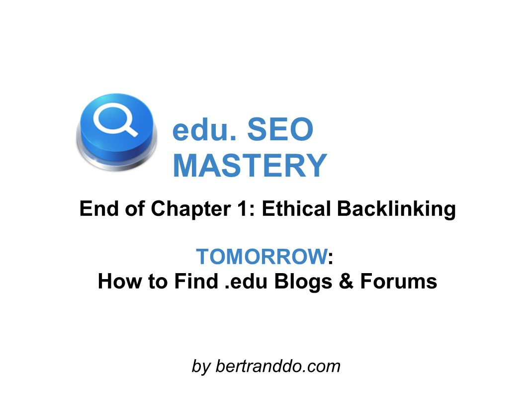 How to Find .edu Blogs & Forums
