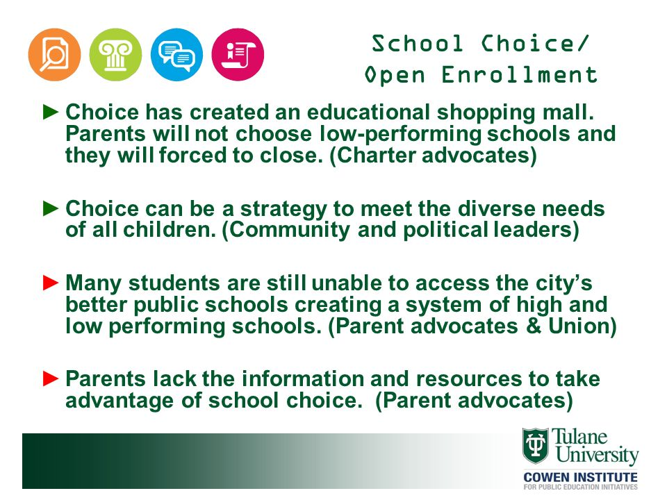 School Choice/ Open Enrollment