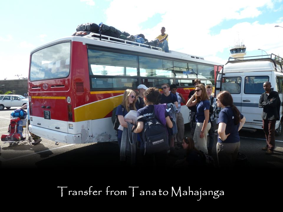 Transfer from Tana to Mahajanga