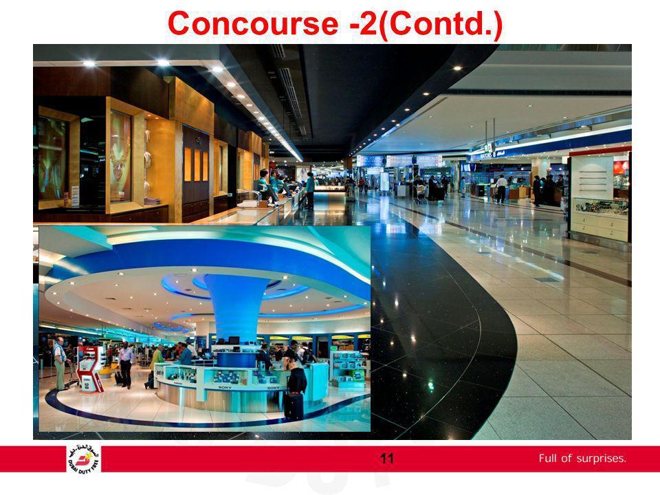 Concourse -2(Contd.)