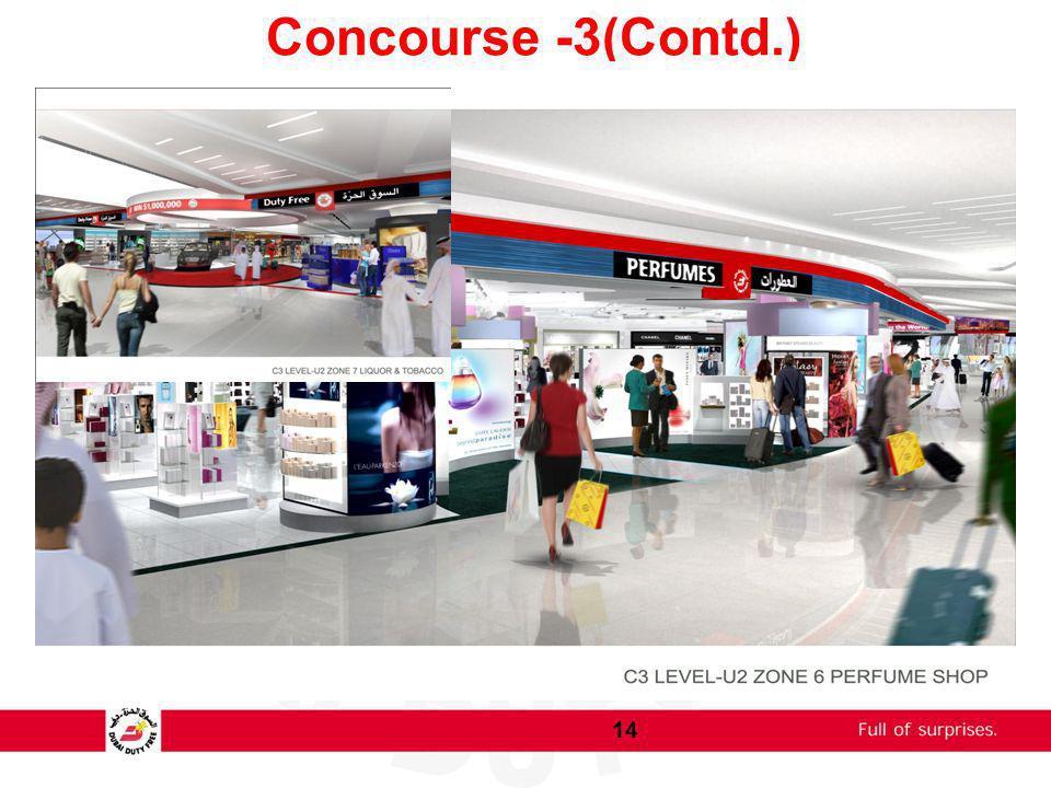 Concourse -3(Contd.)