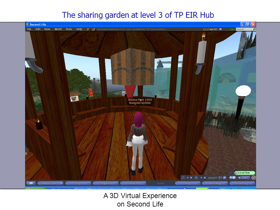 The sharing garden at level 3 of TP EIR Hub
