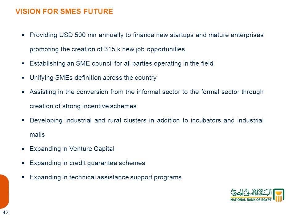 h VISION FOR SMES FUTURE.