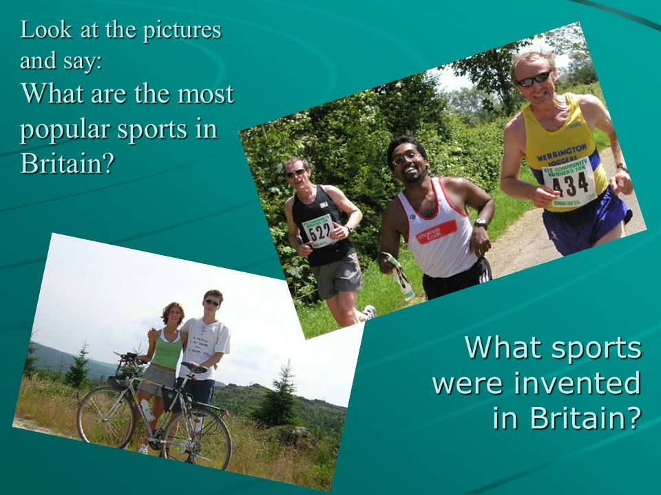 What sports were invented in Britain