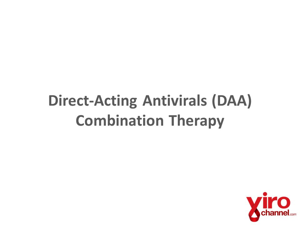 Direct-Acting Antivirals (DAA) Combination Therapy