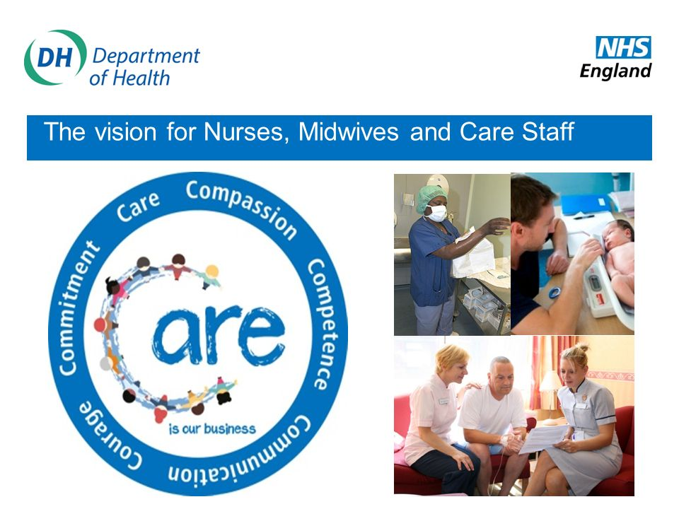 The vision for Nurses, Midwives and Care Staff