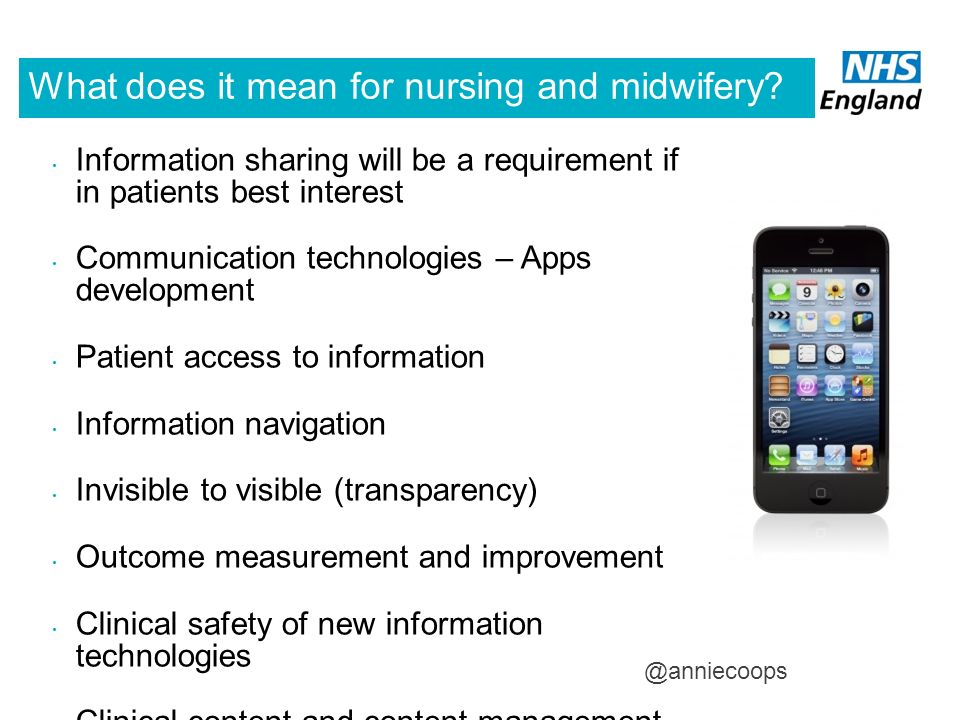 What does it mean for nursing and midwifery
