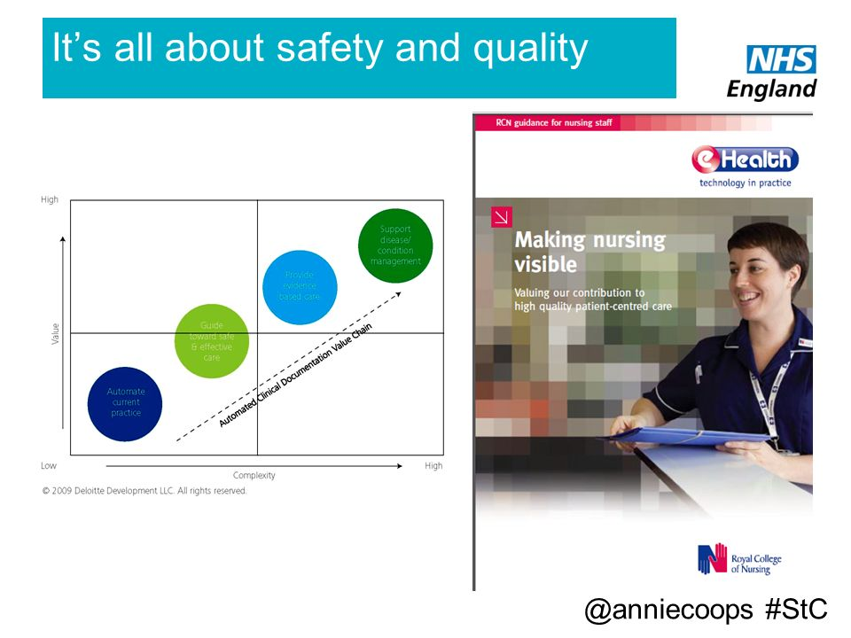 It's all about safety and quality