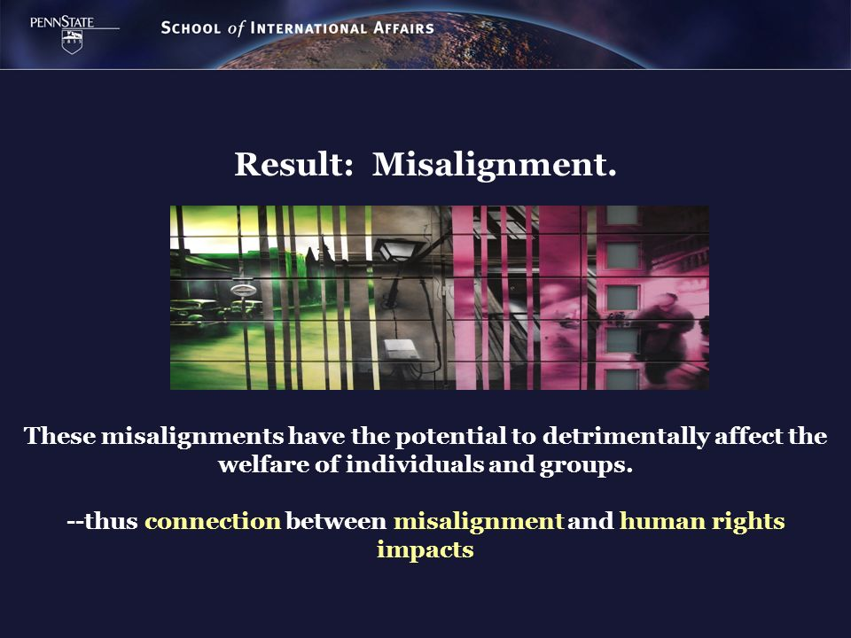 --thus connection between misalignment and human rights impacts
