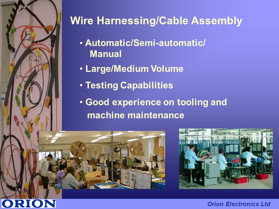 Wire Harnessing/Cable Assembly