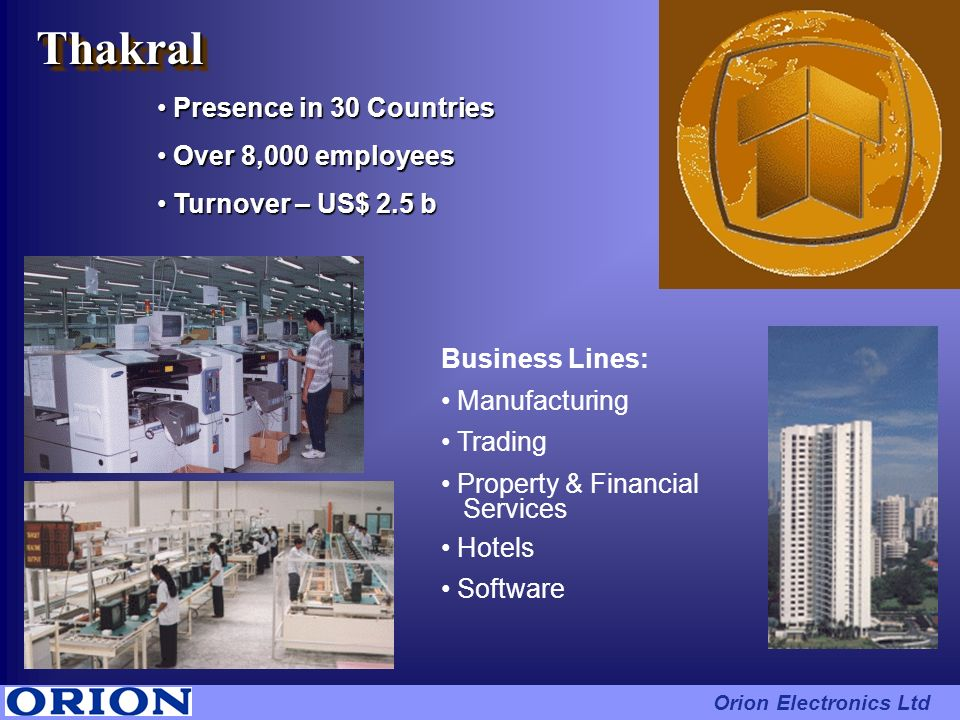 Thakral Presence in 30 Countries Over 8,000 employees