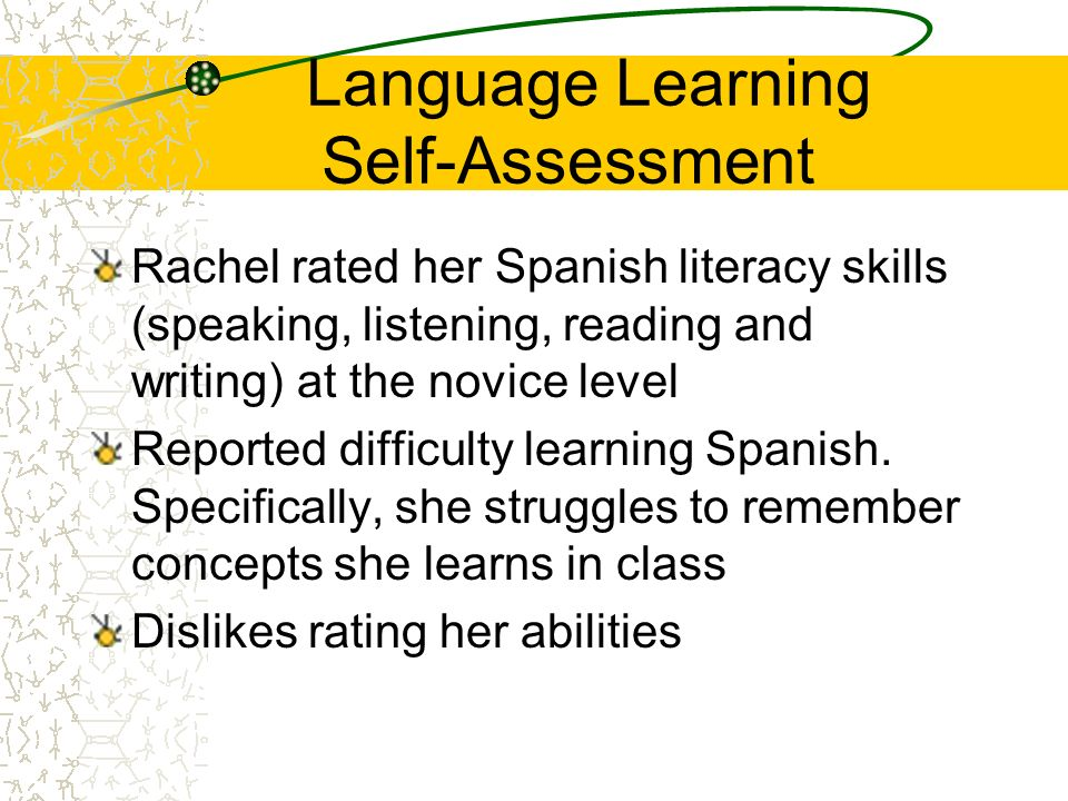 Language Learning Self-Assessment