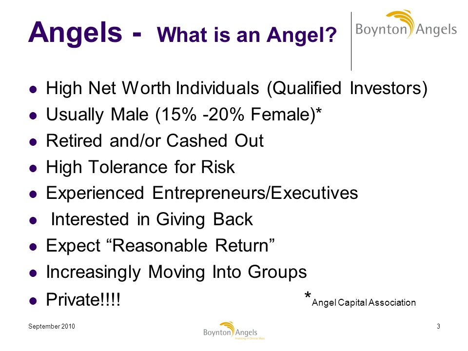 Angels - What is an Angel