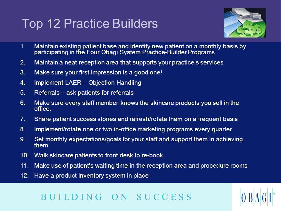 Top 12 Practice Builders