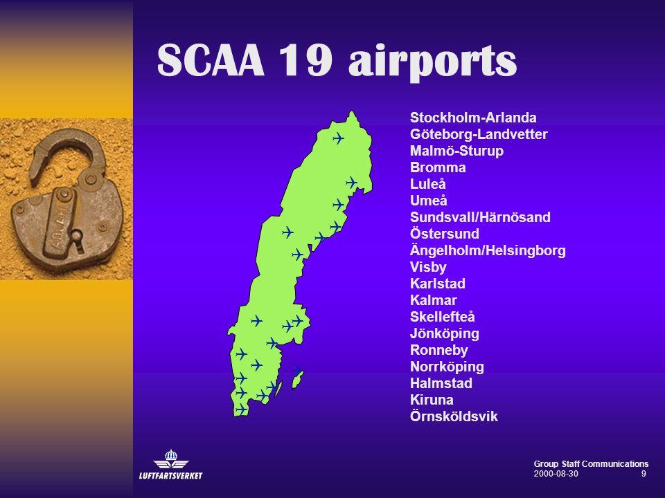 SCAA 19 airports Q Q Q Q Q Q Q Q Q Q Q Q Q Q Q Q Q Q Q
